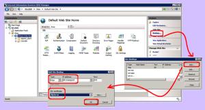 Binding SSL on IIS