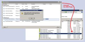 Error Message Installing the VMware SRM Plugin