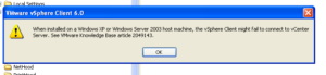VMware-XP-SSL-Error